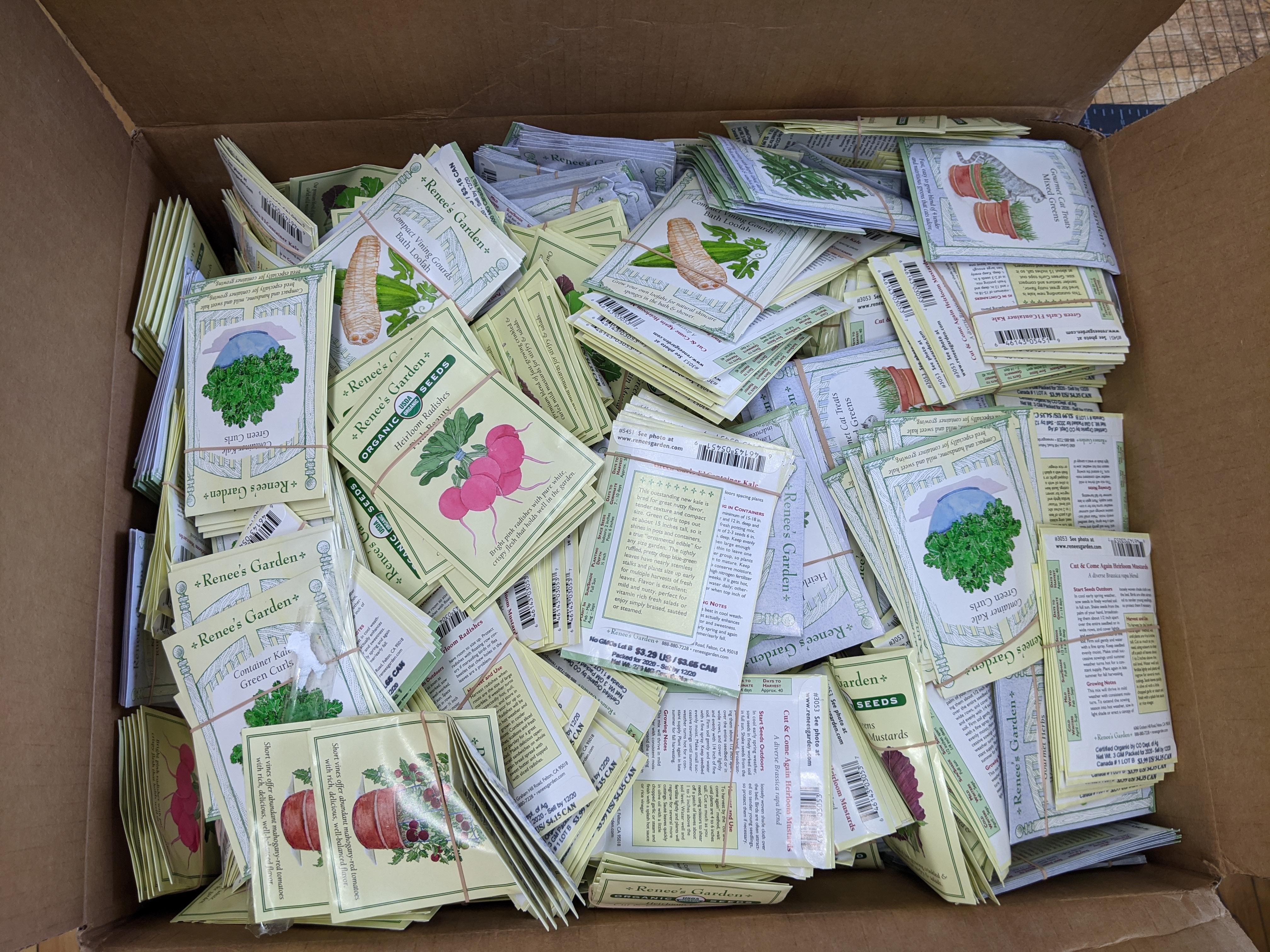 Seeds to sort
